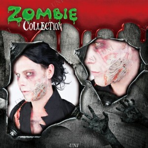 ZOMBIE COLLECTION FXSCAR Burn(火傷) パーティーグッズ プチ仮装 変装グッズ コスプレ メイクアップ 化粧 ホラーメイク 特殊メイク ハロウィン 衣装