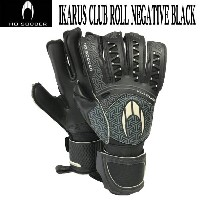 IKARUS CLUB ROLL NEGATIVE BLACK 【HO SOCCER】HO サッカー キーパーグローブ17FW(51.0556)*00