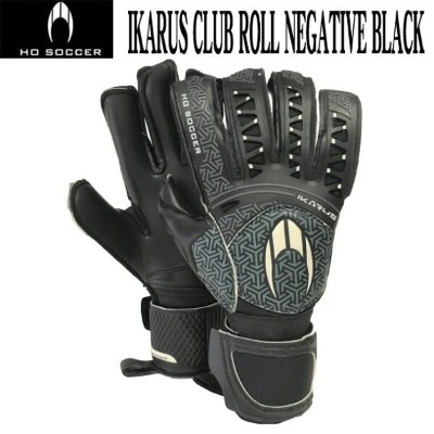 IKARUS CLUB ROLL NEGATIVE BLACK 【HO SOCCER】HO サッカー ● キーパーグローブ17FW(51.0556)*24