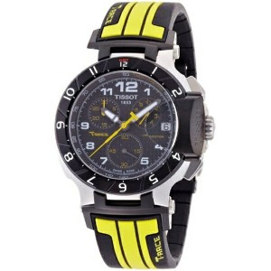 ティソ Tissot 腕時計 メンズ 時計 Tissot T Race Moto GP Chronograph Mens Watch T0484172720201