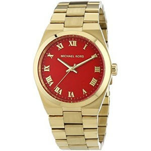 マイケルコース Michael Kors レディース 腕時計 時計 Michael Kors MK5936 Ladies Channings Gold Plated Watch