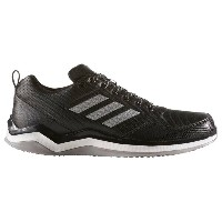アディダス メンズ 野球 シューズ・靴【adidas Speed Trainer 3.0】Black/Silver Metallic/White