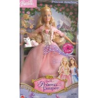 "Barbie(バービー) as ""Princess and the Pauper"" Princess Anneliese ドール 人形 フィギュア"