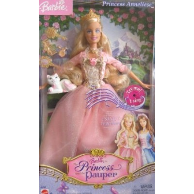 """Barbie(バービー) as """"Princess and the Pauper"""" Princess Anneliese ドール 人形 フィギュア"""