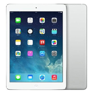 【中古】【安心保証】 iPadAir_1[WiFi16GB] シルバー