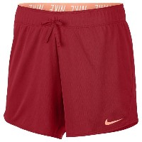 "ナイキ レディース フィットネス スポーツ Women's Nike Dri-FIT 5"" Attack Shorts University Red/Sunset Glow"
