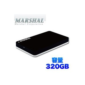 MARSHAL 外付けポータブルHDD miniSHELTER 320GB