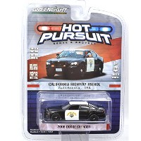 "GREENLIGHT 1:64SCALE HOT PURSUIT ""2008 DODGE CHARGER"" CHP California Highway Patrol グリーンライト 1..."