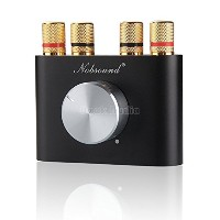 【TYSJ】Nobsound Mini Bluetooth Power Amplifier、ワイヤレスレシーバー (ブラック)