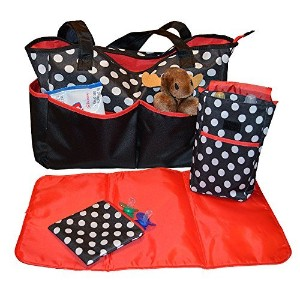Sharebear Ladies Diaper Bag - The Best Diaper Bag for Baby Boys or Girls. Moms and Dads Will Love...