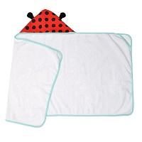 Little JJ Cole Hooded Towel Lady Bug by JJ Cole