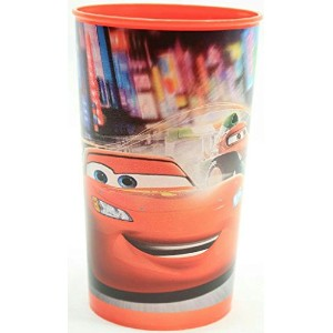 (Pack of 2) Cartoon Character Plastic Drinking Cup (Cars) by Greenbrier by Greenbrier [並行輸入品]