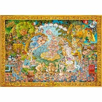 HEYE Puzzle・ヘイパズル 29637 Michael Ryba : The Pig in Art 4000ピース