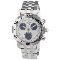 ティソ Tissot 腕時計 メンズ 時計 Tissot Men's T17148634 PRS200 Chronograph Watch