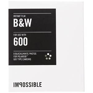 IMPOSSIBLE ポラロイド用 インスタントフィルム INSTANT BLACK&WHITE FILM FOR POLAROID 600 TYPE CAMERA 2786