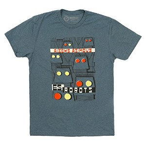 【Out of Print】 Isaac Asimov / Es, Robots Tee (Indigo) Medium
