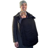 Coldsnap Coat-extension Baby Cover Keeps Baby and You Warm and Dry - clips onto any coat by Hatch...