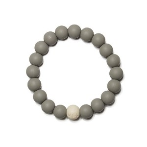 Mama & Little - Linda Silicone Teething Bracelet - Pebble by Mama & Little