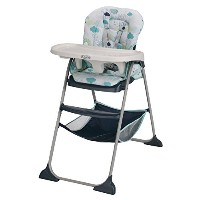 Slim Snacker High Chair High Chair Chair Protector Dining Chair High Chair- Stratus - New by Graco ...
