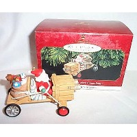 1997The claus-mobile Here Comes Santa # 19ホールマーク記念品オーナメント