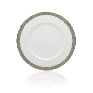 Mikasa Woven Cable Gold 8-1/2-Inch Salad Plate, White by Mikasa [並行輸入品]