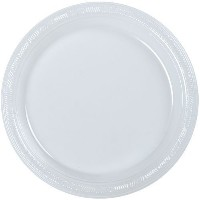 Hanna K. Signature Collection 50 Count Plastic Plate, 10-Inch, Clear [並行輸入品]