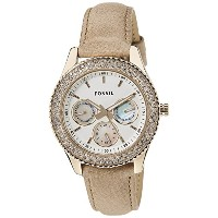 Fossil Women's ES3104 Stainless Steel Analog White Dial Watch [Watch] Fossil
