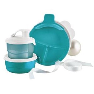 Tupperware Baby Stages Feeding Set in Tropical Water by Tupperware