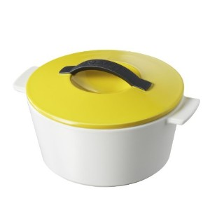 Revolution 642294 7-1/2-Inch Round Cocotte with Lid, Seychelles Yellow [並行輸入品]