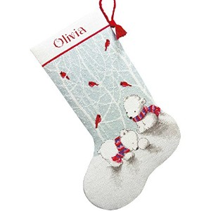 Dimensions Crafts Counted Cross Stitch Stocking, Snow Bears, 16-Inch by Dimensions Crafts [並行輸入品]