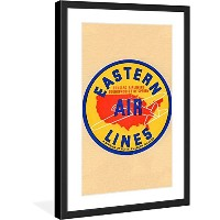 "Marmont Hill "" Eastern Airlines "" vintage-travel額入りプリント 20"" x 30"" MH-SMITH-69-BFP-30"