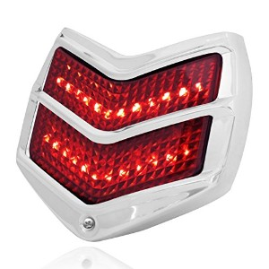 KNS Accessories KA0235 Ford Passenger Car Red 24 LED Tail Light Assembly [並行輸入品]