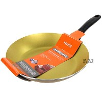 """Fry Pan Non Stick 9""""インチテフロンGoldenアルミStay Cool Handle Skillet"""