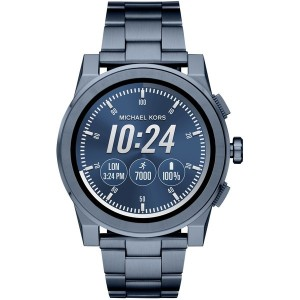 メンズ MICHAEL KORS ACCESS Grayson Touchscreen Smartwatch スマートウォッチ ブルー