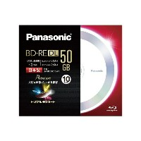 パナソニック LM-BE50C10WP 録画用 BD-RE DL 1-2倍速 50GB 10枚 LM-BE50C10WP[LMBE50C10WP] panasonic