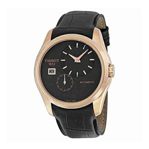 ティソ Tissot 腕時計 メンズ 時計 Tissot Men's T0354283605100 Analog Display Automatic Self Wind Black Watch