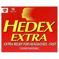 Hedex Extra Tablets 16 by HEDEX