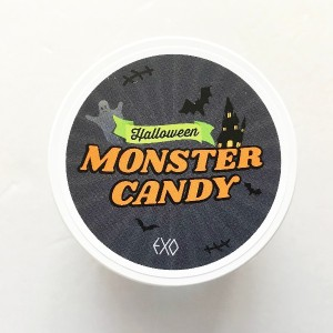SM Town SUM Cafe EXO Halloween Monster Limited Candy