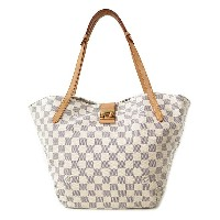 【LOUIS VUITTON】ルイヴィトン『ダミエ アズール サリナPM』N41208 レディース トートバッグ 1週間保証【中古】b05b/h10AB