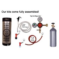 Kegconnection Homebrew Basic Pin Lock Kit, 5lb Co2, Keg & Taprite Regulator by Kegconnection by...