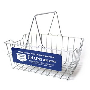 CULTURE MART ワイヤーバスケット WIRE BASKET / CHAINS 101197-1