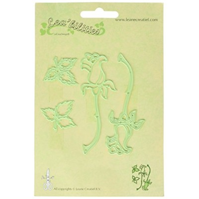 "Lea'bilities Cut & Emboss Dies-Roses, 1.25"" To 3.75"" (並行輸入品)"
