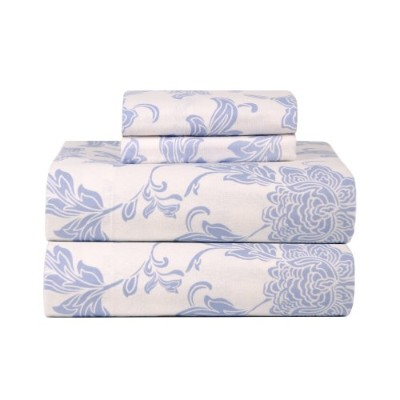 (Twin X-Large, Corsage) - Celeste Home Ultra Soft Flannel Sheet Set with Pillowcase, Twin X-Large,...