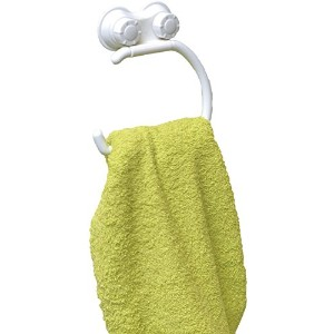 Suction Mounted Bath Towel Ring by EVIDECO