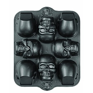 Wilton 2105-0607 Dimensions 8-Cavity 3D Skull Pan, Mini [並行輸入品]
