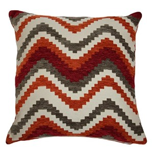 """Navajo Pillow Covers 16"""" x 16"""" レッド 27120a"""