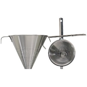 High Quality-Jonas of Sweden 18/10 Stainless Steel Conical Strainer, 7-1/2 Inch