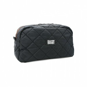 【 HAIGHT QUILTING POUCH (L) Black 】 ( haight ヘイト キルティング ポーチ バッグ Quilting POUCH BAG vape ベイプ )