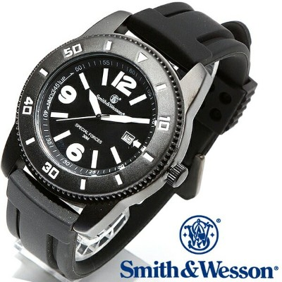 Smith & Wesson スミス&ウェッソン PARATROOPER WATCH 腕時計 BLACK SWW-5983 【クーポン対象外】