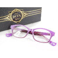 未使用 【中古】 DITA ディータ 伊達 眼鏡 Optical COPINE DRX-3025-C-PUR-49-AF K2285670